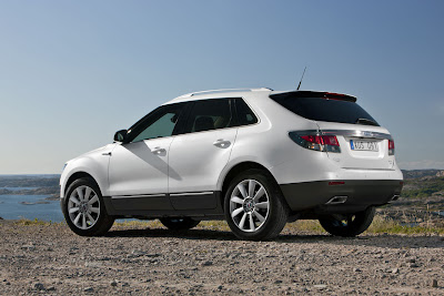 2012 Saab 9-4X Rear Side View