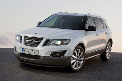 2012 Saab 9-4X Front Angle View