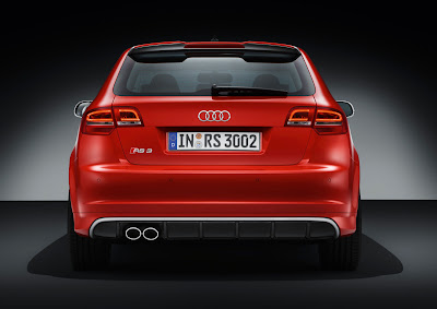 2012 Audi RS 3 Sportback Rear View