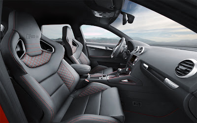 2012 Audi RS 3 Sportback Interior and Front Seats
