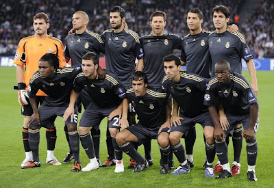 Real Madrid Team Football Pictures