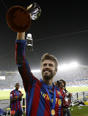 Gerard Pique Barcelona Football Player