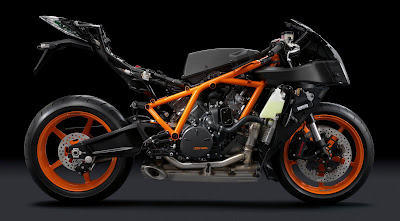 2011 KTM 1190 RC8R Frame and Engine