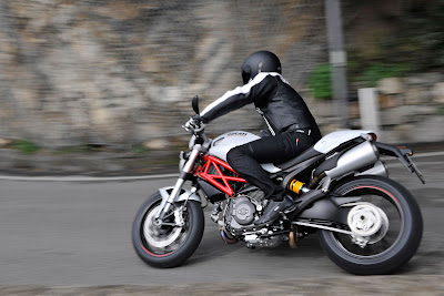2011 Ducati Hypermotard 796 Side Action View