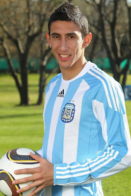 Angel Di Maria Football Pictures