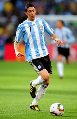 Angel Di Maria Argentina Football Player