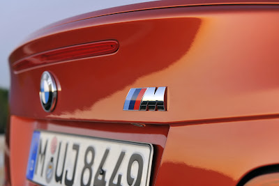 2011 BMW 1 Series M Coupe Badge