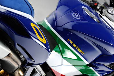 2011 MV Agusta F4 Frecce Tricolor Bodywork and Seat