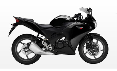 2011 Honda CBR125R Black Color