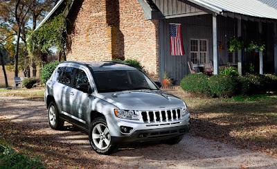 2011 Jeep Compass Official Photos