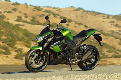 2011 Kawasaki Z1000 Sportbike