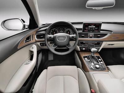 2012 Audi A6 Interior View