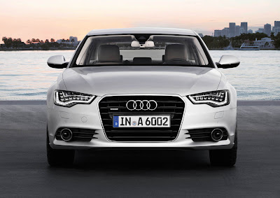 2012 Audi A6 Front View