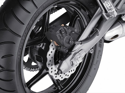 2011 Kawasaki Ninja 650R Rear Brake View