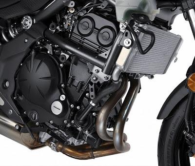 2011 Kawasaki Ninja 650R Engine