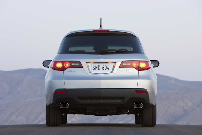 2011 Acura RDX Rear View