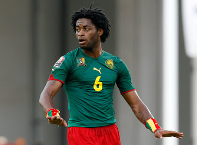Alex Song Cameroon Football Player