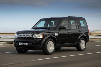 2011 Land Rover Discovery 4 Armoured Luxury Car