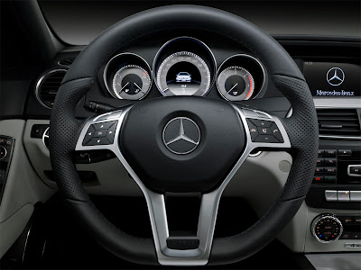 2012 Mercedes-Benz C-Class Steering Wheel