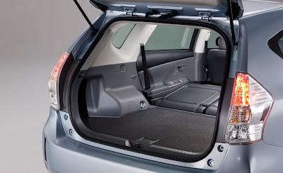 2012 Toyota Prius V Cargo Room