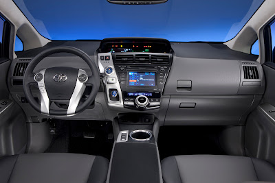 2012 Toyota Prius V Interior View