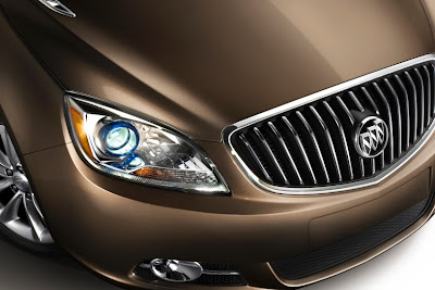 2012 Buick Verano Front Light and Grille