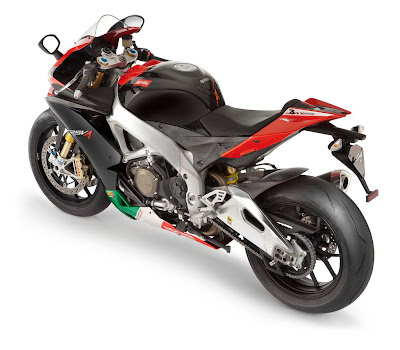 2011 Aprilia RSV4 Factory APRC SE Top Side View