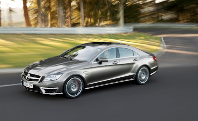 2012 Mercedes-Benz CLS63 AMG Front Side View