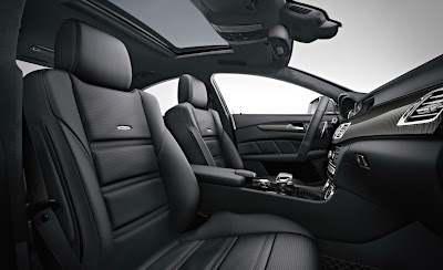 2012 Mercedes-Benz CLS63 AMG Front Seats Photo