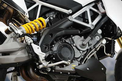 2011 Aprilia Dorsoduro 1200 Engine