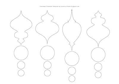 Free Printable Felt Christmas Ornament Patterns