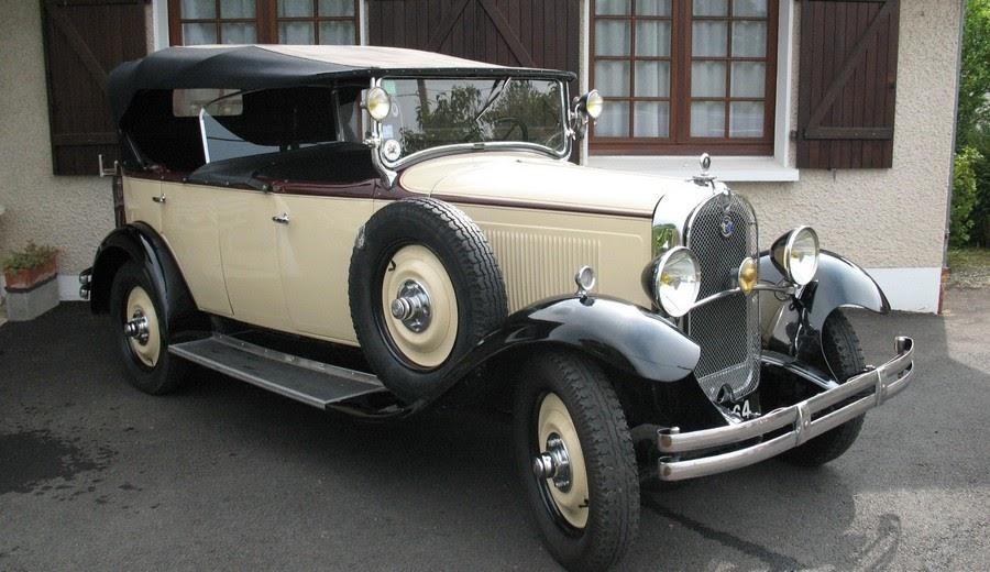 Garage de poche jip ac4 torpedo citro n de 1929 for Garage citroen la fleche