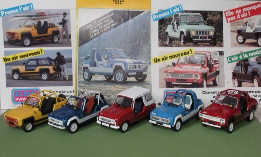 Garage de poche renault alpine jp 4 jp 5 et jp 6 for Garage renault ile verte