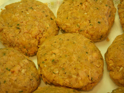 Diana Dyer, MS, RD: Recipe - Sweet Potato Salmon Patties