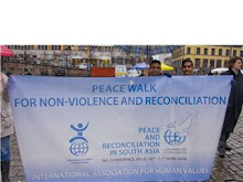 peace march+peace conference(S.Asia:Peace/reconciliation) by iahv.org/artofliving.no in Oslo