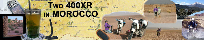 Two 400XR in Morocco