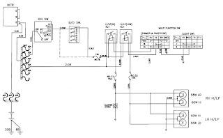 Daewoo Korando Head Lamp    Schematic    and Routing    Diagrams