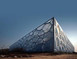 Centro Acuático Nacional de Pekín- PTW Architects-