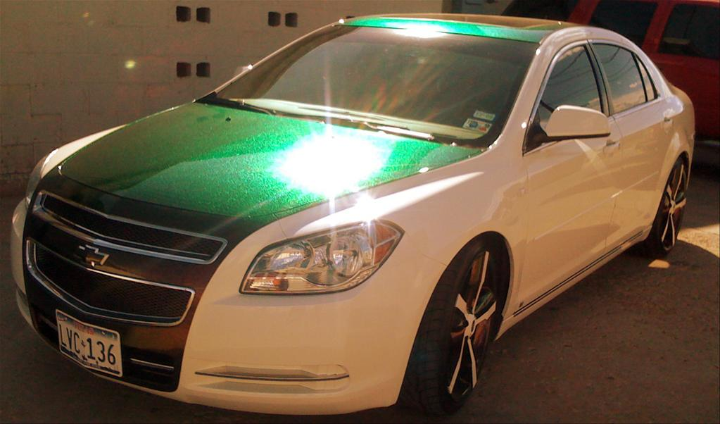 Pimped Cars: Chevrolet Malibu with few modifications