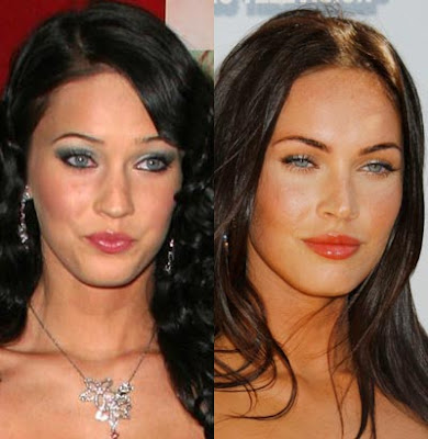 megan fox plastic surgery. hair megan fox plastic