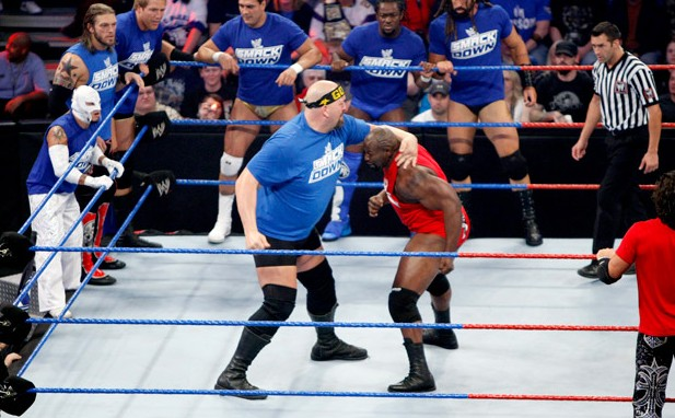 Bragging Rights 2010 Smackdown vs Raw Team Raw Wwe Bragging Rights