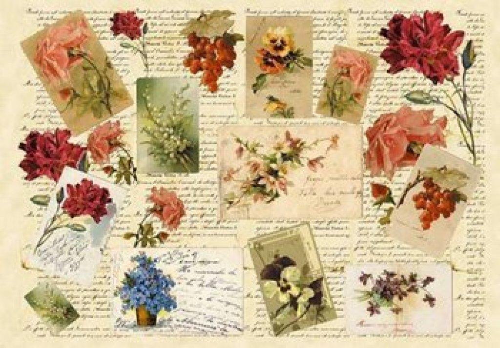 Laminas decoupage laminas antiguas de cartas escrituras - Laminas infantiles para enmarcar ...