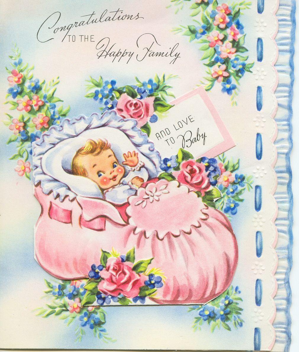 Поздравление открытка бабушке с рождением внучки