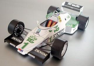 Formula 1  Papercraft - Williams FW08C Papercraft