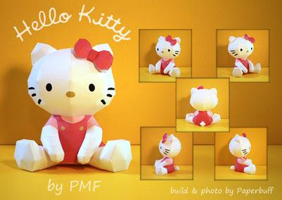 Anime Papercraft - Hello Kitty 2