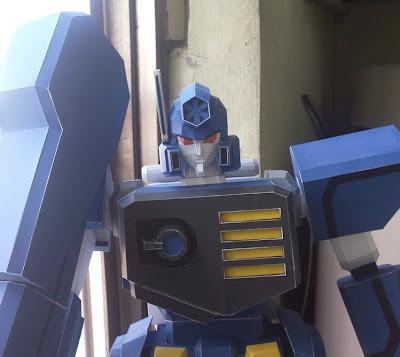 Robot Papercraft -  Keugigo