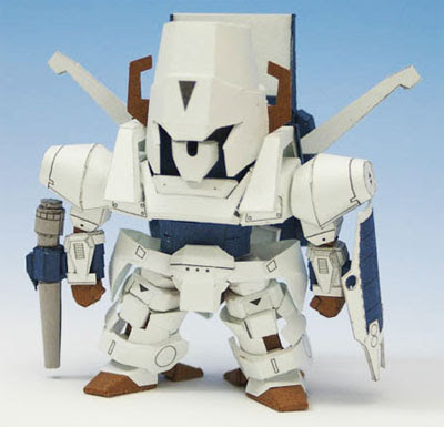 Robot Papercraft - Heavy Metal L.Gaim
