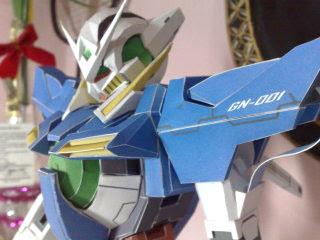 Gundam Papercraft - GN-001 Gundam Exia
