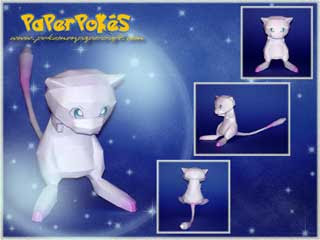 Pokemon Papercraft - Mew