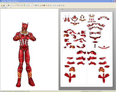 Marvel Papercraft - Sunfire